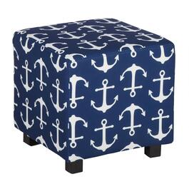 Anchor Upholstery Square Ottoman