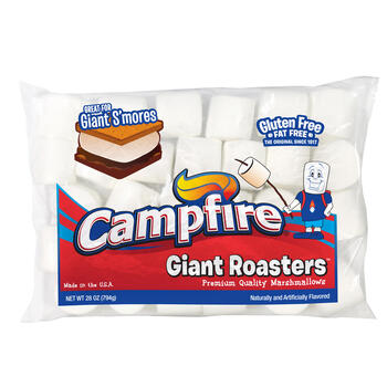 Campfire Giant Roaster 28 Ounce Marshmallows view 1