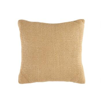 "Arbor Gate™ Solid Raffia Indoor/Outdoor 20"" Square Throw Pillow"