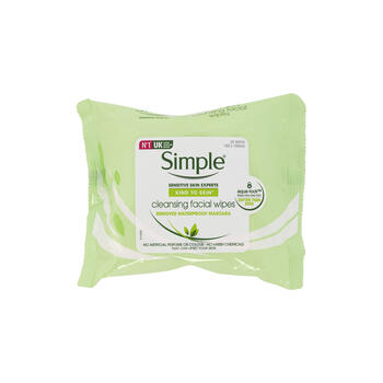 SIMPLE FACIAL WIPES 25ctx view 1