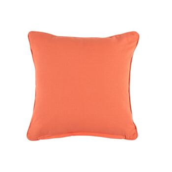 Naya Blue/Coral Elephant Square Throw Pillow view 2