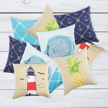 2 Pack Indoor/Outdoor Pillows