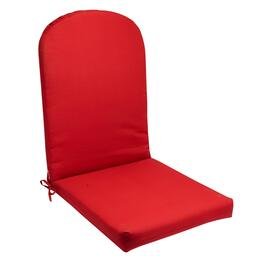 Solid Red Indoor/Outdoor Adirondack Chair Pad