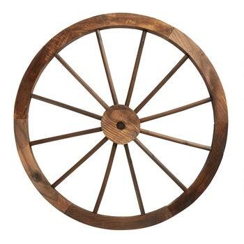 "31"" Wooden Wagon Wheel"