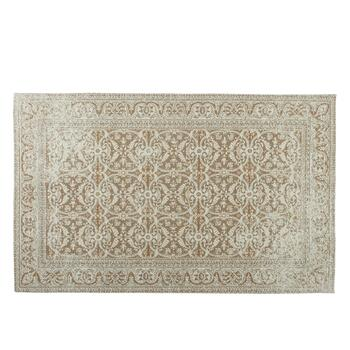 Beige Venezia Tapestry All-Weather Rug
