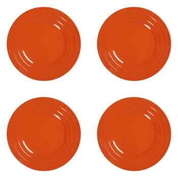 Rachael Ray™ Orange Salad Plates, Set of 4
