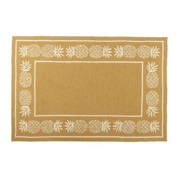 Coastal Living Seascapes™ Beige Pineapple Border Rug