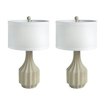 "24.5"" Accord Jar Table Lamps, Set of 2"