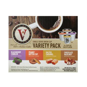 Victor Allen's® Single Serve Flavored Variety Pack Coffee Pods, 96-Count view 2