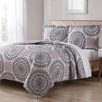 3-Piece Reversible Quilt Sets