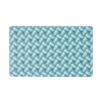 "18""x30"" Turquoise Diamond Cushioned Mat"