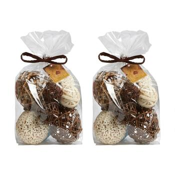 Vanilla-Scented Potpourri Bags, Set of 2