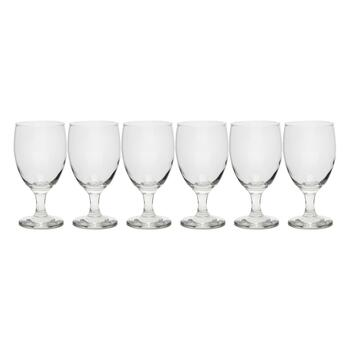 16-Oz. Glass Wine Goblets, Set of 6