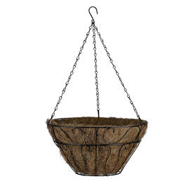 "COCO HANGING PLANTER 12"" view 1"