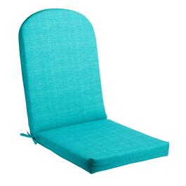 Solid Turquoise Indoor/Outdoor Adirondack Chair Pad