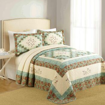 Bailey Embroidered Cotton Quilt