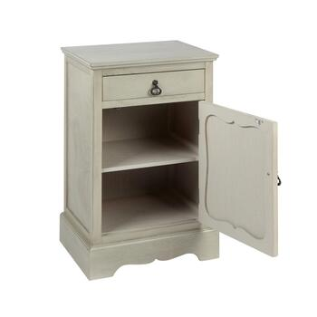 The Grainhouse™ Gray 1-Door/1-Drawer Cabinet view 2