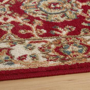 Red Traditional Printed Rug Set, 3-Piece view 2