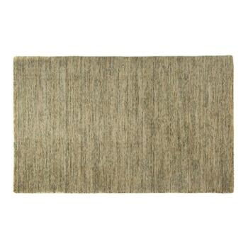5'x7.5' Speckled Wool Area Rug