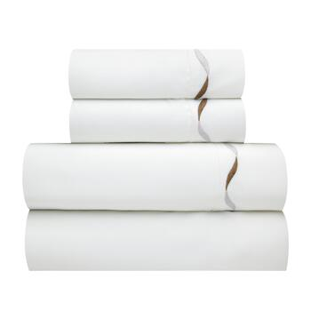 Elle Embroidered 1200-Thread Count Sheet Set