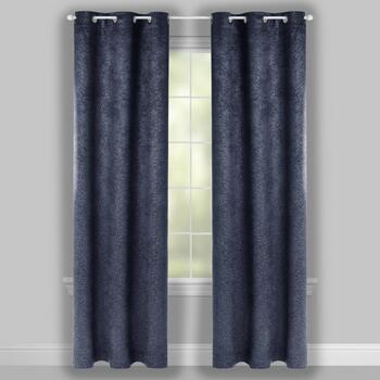 "84"" Vienna Room Darkening Grommet Window Curtains, Set of 2 view 2"