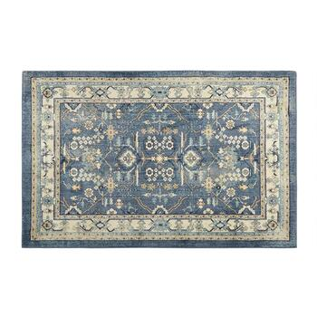 Mohawk Home 5'x7' Blue Floral Traditional Area Rug