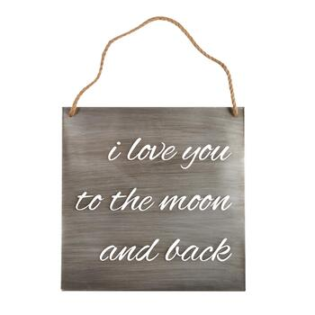 "The Grainhouse™ 20"" ""I Love You"" Wall Sign"
