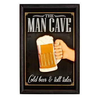 "16""x24"" ""The Man Cave"" Wall Sign"