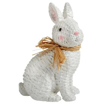 Paper Maché Basketweave Bunny