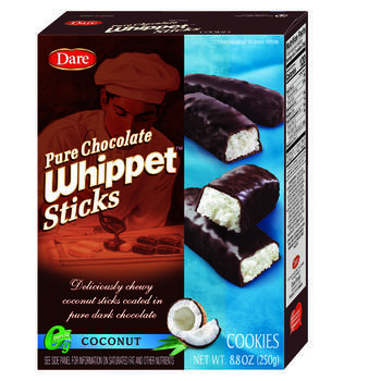 Dare® Pure Chocolate Whippet 8.8 Ounce Coconut Cookies view 1