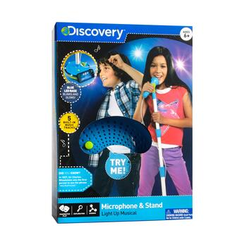 Discovery Kids™ Light-Up Musical Microphone & Stand