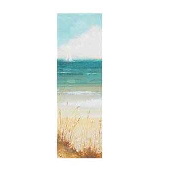 "12""x36"" Sailboat Indoor/Outdoor Canvas Wall Art"