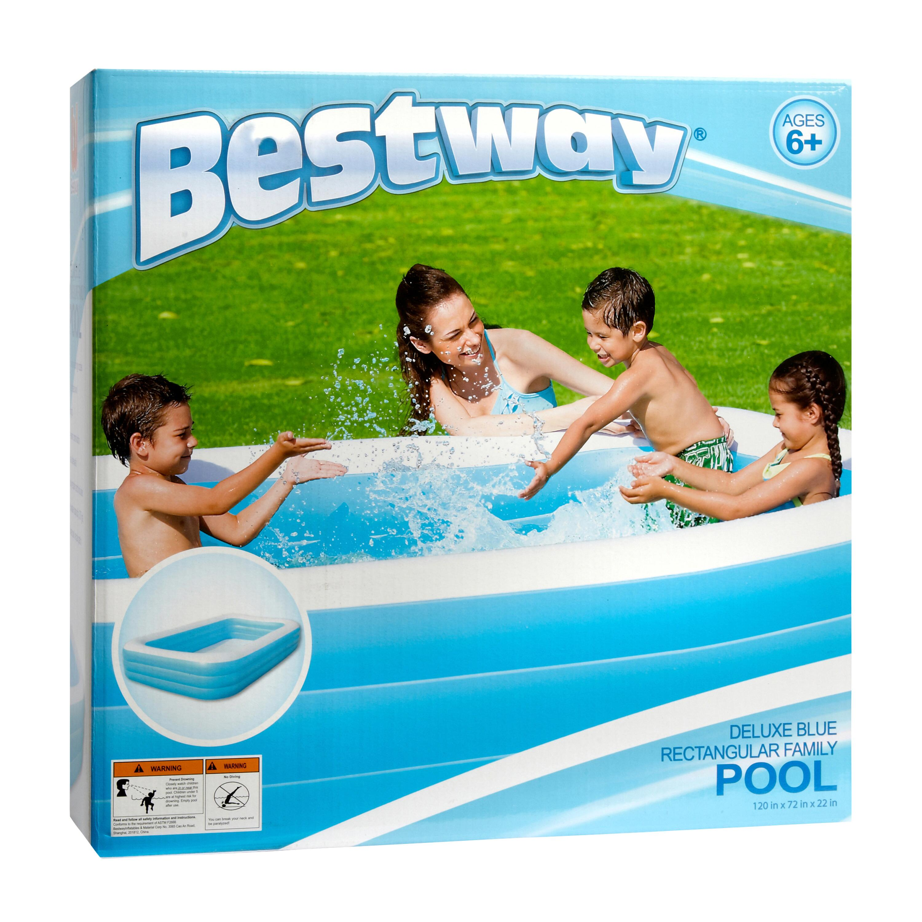 Deluxe Rectangular Inflatable Family Pool Christmas Tree Shops And That Home Decor Furniture Gifts Store