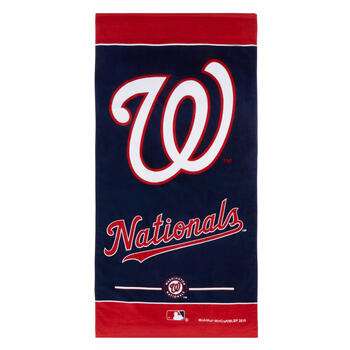 "30""x60"" MLB Washington Nationals™ Cotton Beach Towel view 1"
