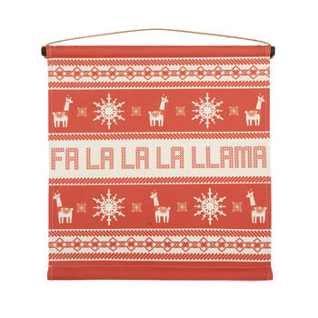 "24"" ""Fa La La Llama"" Tapestry Wall Decor view 1"