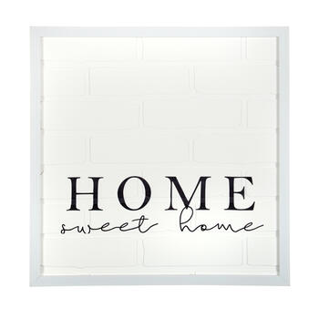 "The Grainhouse™ 20"" ""Home Sweet Home"" Square Framed Wall Decor view 1"