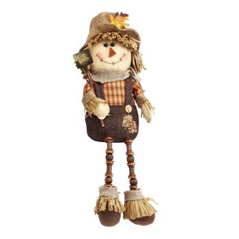 "8"" Sitting Boy Scarecrow Doll"