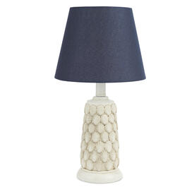 "Coral Cove™ 18"" Poly Shell Lamp view 1"