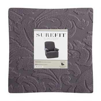 SUREFIT Simple Stretch Scroll Recliner Slipcover