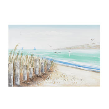 "24""x36"" Shore Birds Canvas Wall Art view 1"