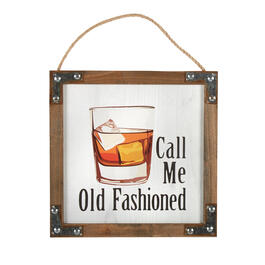 "12"" ""Call Me Old Fashioned"" Wood Frame Wall Decor view 1"