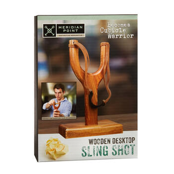 Wooden Desktop Slingshot view 1