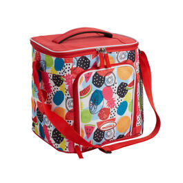 Red Fruit 18-Can Cooler with Strap view 1