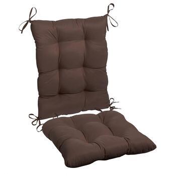 Solid Twill Rocking Chair Cushions