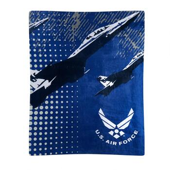 "50""x60"" US Air Force Military Throw Blanket"