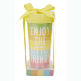 """Enjoy the Little Things"" Travel Mug & Note Pad Gift Set view 1"