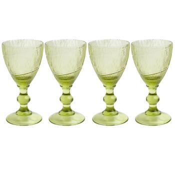 Country Roads by Laurie Gates Leaf Wine Glasses, Set of 4
