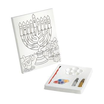 Design Your Own Chanukah Canvas Art