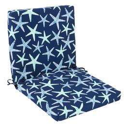 Starfish Indoor/Outdoor Mid-Back Chair Pad