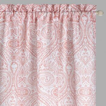 "84"" Beekman Printed Window Curtains, Set of 2"